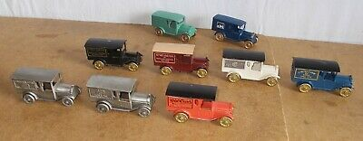 9x NOSTALGIC MINIATURES - 1977 - MADE IN USA - FEDERAL TRUCK