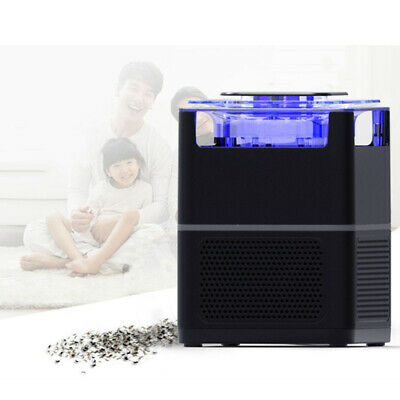 LED Electric Fly Bug Zapper asesino luz USB mosquitos plagas insectos trampa