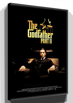 The Godfather Printed Canvas Wall Art Various Sizes Ready To Hang