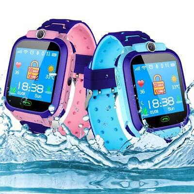 Orologio Intelligente Bambini Impermeabile Smart Watch Q12 Multi-Language Rosa