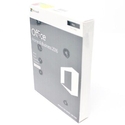 Microsoft Office for Mac Home and Business 2016 - New - Discounted - Sealed