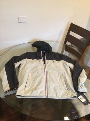 NWT Tommy Hilfiger Breathable Water Resistant Windbreaker Jacket Small New!!!!
