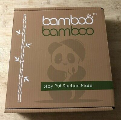 Bamboo Bamboo Plate With Pink Base