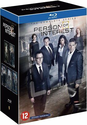 PERSON OF INTEREST COMPLETE SERIES 1-5 COLLECTION Blu Ray Season 1  2 3 4 5 NEW