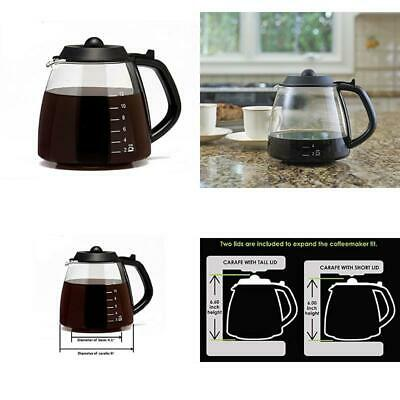 Café Brew Collection 12 Cup  Carafe For Most Cuisinart, Mr. Coffee, Bunn, Etc