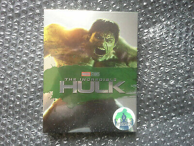 Blu-ray Steelbook - The Incredible Hulk BLUFANS Fullslip - NEUF