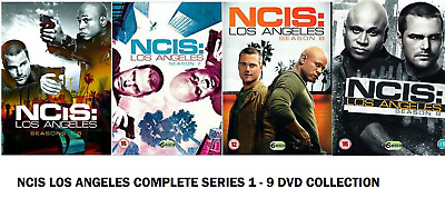 NCIS LOS ANGELES SEASON 1-8 COMPLETE DVD Series 1 2 3 4 5 6 7 8 9 UK Rele New R2