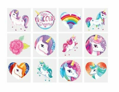 UNICORN Temporary Tattoos Girls Kids Party Loot Bag Fillers  Choose Quantity