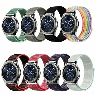 22mm 20mm Strap for Samsung Gear S3 Frontier galaxy watch active 42mm 46mm Band