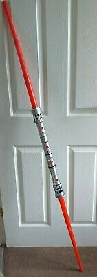 Star Wars Darth Maul Lightsaber Hasbro 2011 Double Ended Cosplay Prop Episode 1