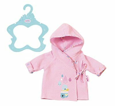 Zapf Creation Baby Born Bathrobe & Hanger Baby Doll Outfit Set