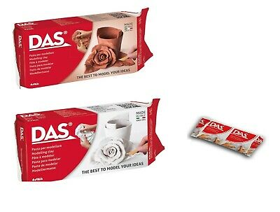 Das White or Terracotta Air Drying Modelling Clay - 150g, 500 g or 1kg