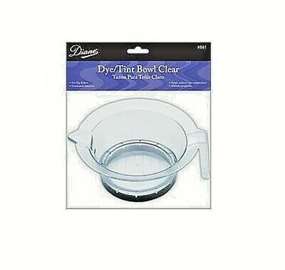 Diane Tint-Dye Bowl Clear, D861     pack/lot of 5