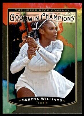 2019 UD Goodwin Champions Base Splash of Color #110 Serena Williams