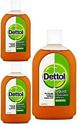 Dettol Antiseptic Liquid Original Disinfectant 500Ml Medical Hygiene First Aid