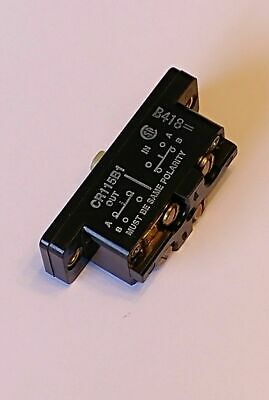 General Electric GE CR115B1 Snap-acting Limit Switch 600 Volts Max
