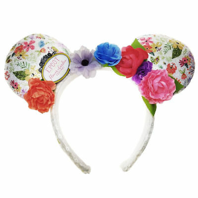 Rare 2018 New Disney Parks Ears Epcot Flower Garden Festival Headband