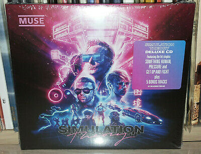 Muse - Simulation Theory - Deluxe Edition - Cd