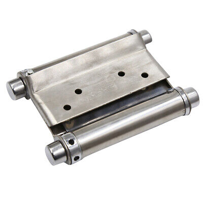 Double Action Spring Door Hinge Stainless Steel Rebound Hinges For Cafe LH