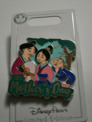 Disney Parks Mulan Mother's Day Pin Limited Edition 5000 NOC