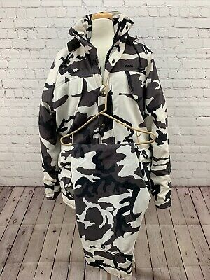 47aee362c2636 Cabela's Winter Camo Gore-Tex Hunting Suit Thinsulate Made In Usa Large / 36