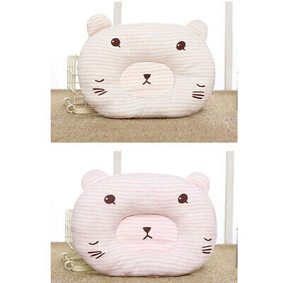 Newborn Baby Infant Cotton Pillow Positioner Prevent Flat Head Anti Roll ONE