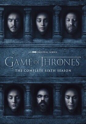 Warner Home Video D617939D Game Of Thrones-Complete 6Th Season (Dvd/5 Disc/Ff)