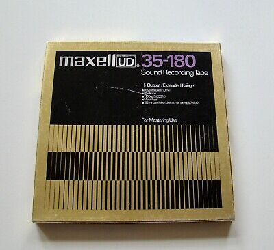 """Maxell UD 35-180 Sound Recording Tape.10.5"""" - USED"""