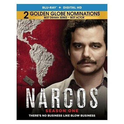 Lions Gate Home Ent Br49996 Narcos-Season 1 (Blu Ray W/Dig) (Ws/Eng/Eng Sub/S...
