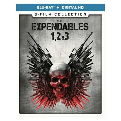 Lions Gate Home Ent Br53119 Expendables 3-Film Ccollection (Blu Ray) (3Discs/...