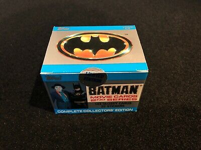 Topps Batman 1989 Movie Collector Cards Sealed Box