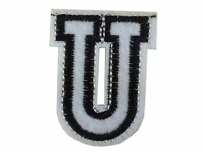 Letters Initials Alphabet Abc Iron-On Patch Patch Miniblings 4,5cm Letter U
