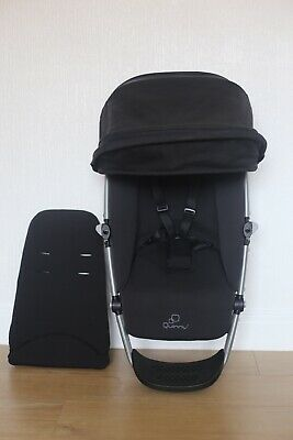 Quinny Buzz 3/4 Xtra Seat Unit Frame with Hood and Insert in Black
