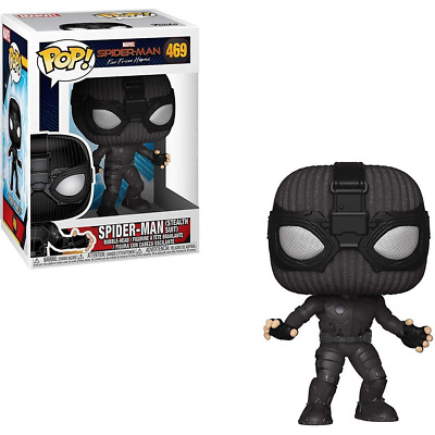 Spider-Man Far From Home #469 - Spider-Man (Stealth Suit) - Funko Pop! Marvel