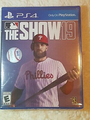 PS4 The Show 19 Video Game Brand New