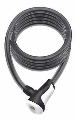 OnGuard Neon Coil Cable Lock 180cm X 10mm White