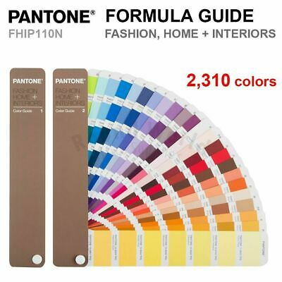 Pantone Color Guides  FHIP110N Formula Guide HOME + INTERIORS FASHION 2310 Color