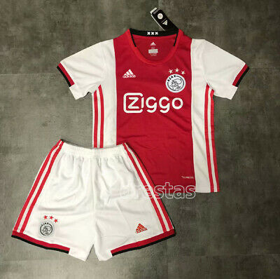 19//20 Soccer Football Full Kit Kids Youth Jersey Strips Team Sports Ajax Outfit