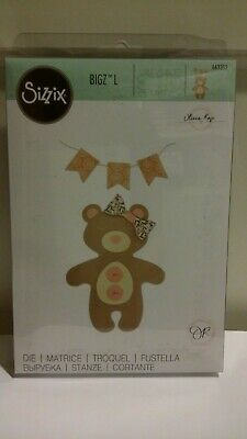 Sizzix Bigz L Bear 663352 by Olivia Rose