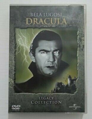 Bela lugosi Dracula Legacy collection dvd cofanetto 3 dischi Universal