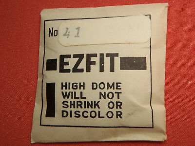Ezfit High Dome Round Plastic Watch Crystal 38.7Mm Nos