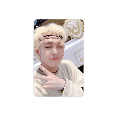 [STRAY KIDS]Cle 2:Yellow Wood/Side Effects/Official Photocard/Outdoor-BANGCHAN