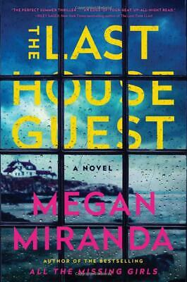 The Last House Guest by Megan Miranda 2019 NEW Free 2 Days Shipping US