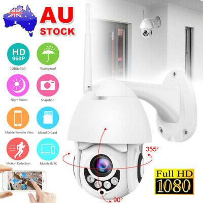Wifi Security Cameras System Outdoor Wireless 1080P CCTV IP 5x Zoom Night Vision
