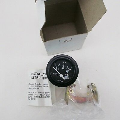 Genuine Datcon Fuel Gauge 12V 100726 New 810IB