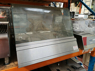 Heated Hot Chicken or Pie Warmer Display Counter Cabinet Merchandiser