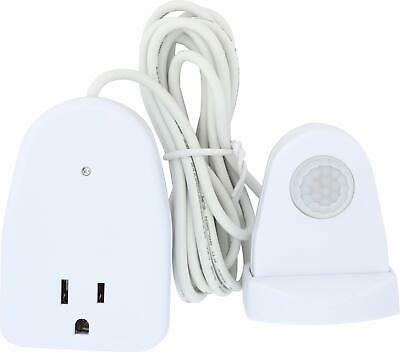 Westek MLC12BC-4 Indoor Plug-In Corded Motion Activated Light Control