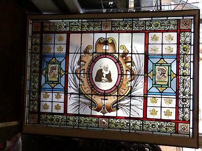 3  stained glass windows Sir John Tomes: Victorian  Pioneer Royal College