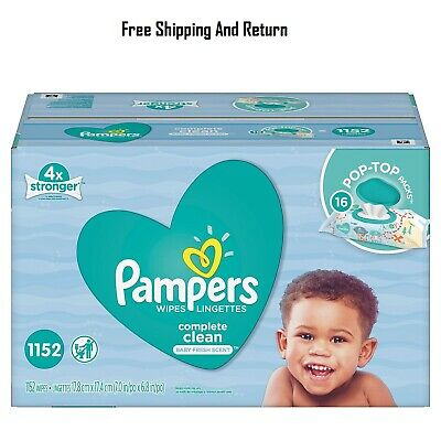 Pampers Baby Wipes, Complete Clean 1152 ct