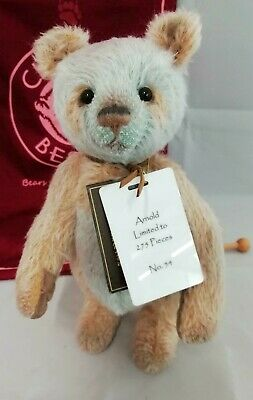 SPECIAL OFFER! 2018 Charlie Bears Isabelle Mohair ARNOLD (No 54/275) RRP £125